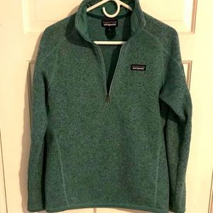 Patagonia 1/4 zip better sweater women size small